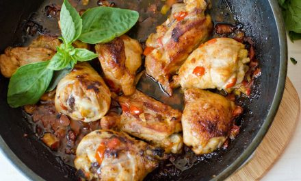 Garlic-Braised Chicken