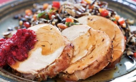 Turkey Breast With Cranberry-Ginger Relish