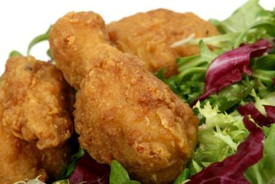 Lighter and Crispier Fried Foods